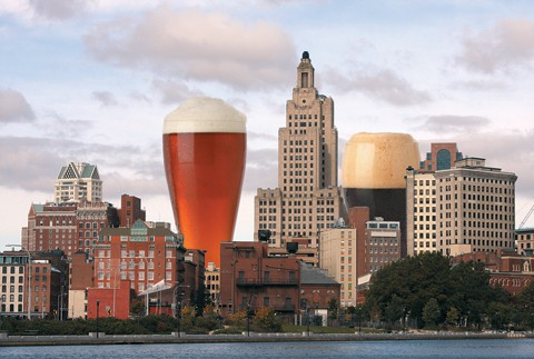This graphic debuted in The Providence Phoenix in 2010, accompanying the story on the first Providence Craft Beer Week