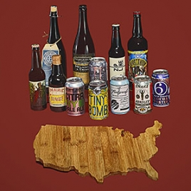 "The ""101 Best Beers"" image from Men's Journal [photo by Michael Pirrocco]"