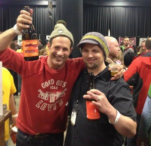 Sam Calagione of Dogfish Head and Dave