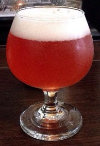 Crooked Current's Raspberry Wheat Ale
